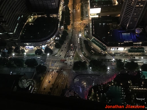 Must Visit Place in Singapore jilaxzone.com ION Sky View at Night