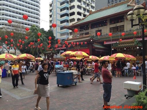Must Visit Place in Singapore jilaxzone.com Kwan Im Temple Bugis