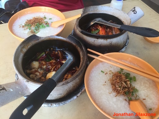 Must Visit Place in Singapore jilaxzone.com Tiong Shian Frog Porridge Chinatown