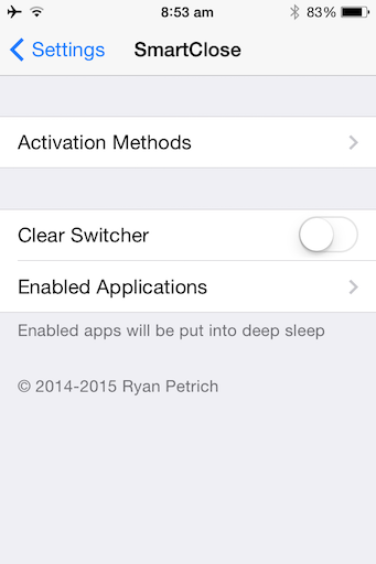 Speed Up Old iPhone Tweak jilaxzone.com Jailbreak Tweak SmartClose iPhoneVM
