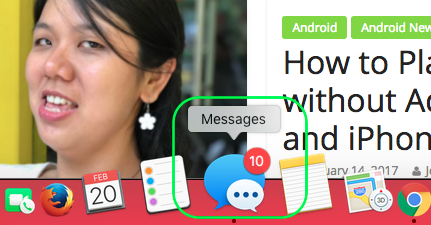 Enable iMessage on Mac jilaxzone.com select the Messages icon