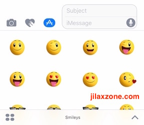 Download and Use iMessage Sticker jilaxzone.com use the imessage stickers