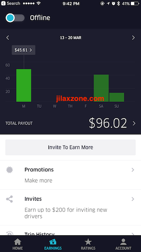 get healthy and get paid for it jilaxzone.com ubereats pay