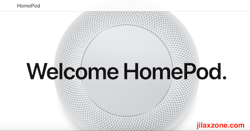 Apple HomePod jilaxzone.com