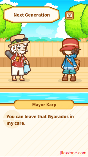Pokemon Magikarp Jump Unlock Gyarados jilaxzone.com bye Gyarados
