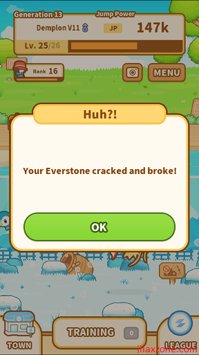 Pokemon Magikarp Jump Unlock Gyarados jilaxzone.com everstone broke