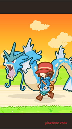 Pokemon Magikarp Jump Unlock Gyarados jilaxzone.com evolve in Gyarados