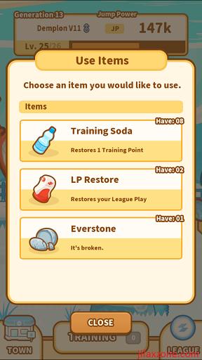 Pokemon Magikarp Jump Unlock Gyarados jilaxzone.com item inventory