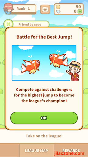 Pokemon Magikarp Jump jilaxzone.com Battle for the best jump