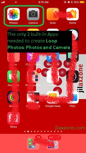 iOS 11 Loop Photo jilaxzone.com Camera and Photos App