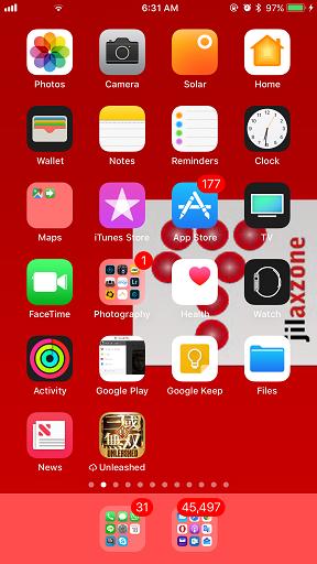 iOS 11 Offload jilaxzone.com offloaded app icon