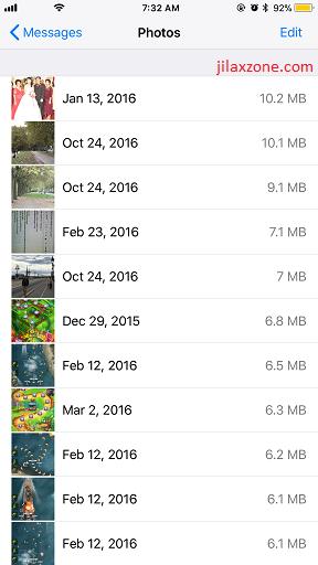 Free iOS Space iOS 11 jilaxzone.com Message - Photos