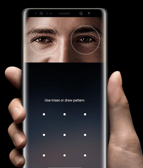 Samsung Galaxy Note 8 jilaxzone.com biometrics authentication