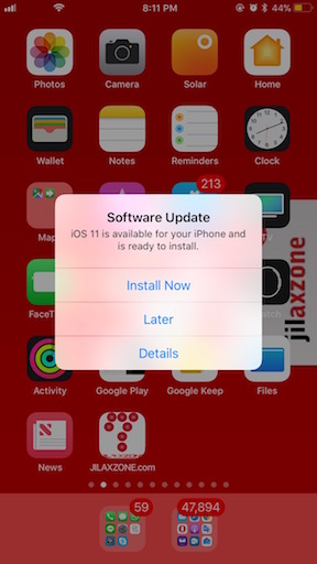 download and install iOS 11 final now jilaxzone.com iOS 11 GM