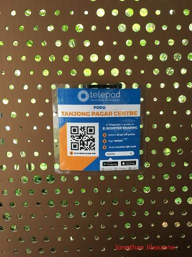 Meet Telepod jilaxzone.com E-Scooter drop off Point