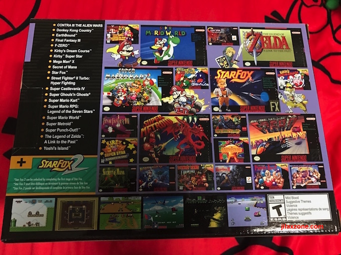 SNES Classic jilaxzone List of SNES Games