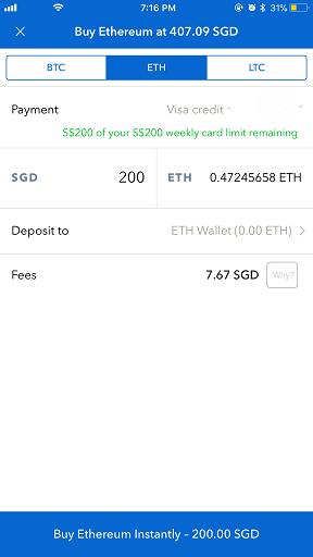 Coinbase app jilaxzone.com bitcoin buy instant