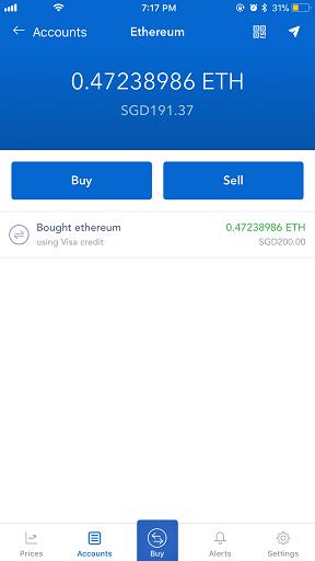 Coinbase app jilaxzone.com bitcoin wallet