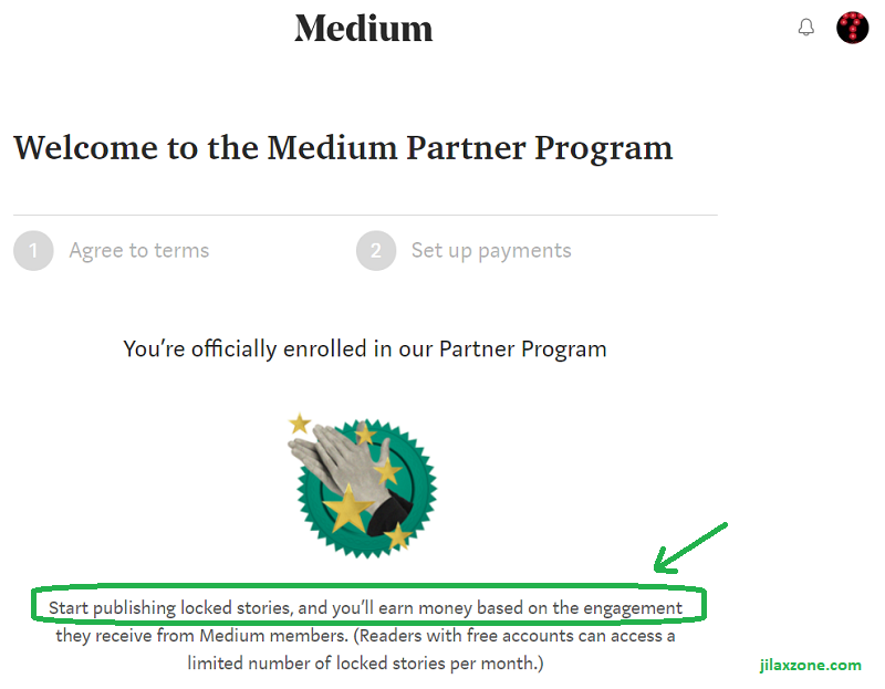 Medium Partner Program jilaxzone.com Officially enrolled