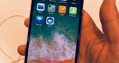 hands on iPhone X jilaxzone.com