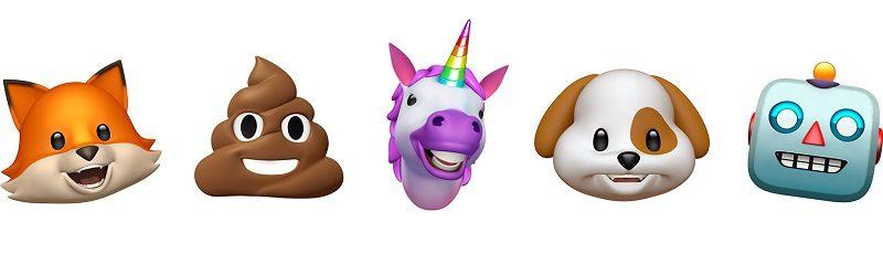 iOS 11 new emoji jilaxzone.com animoji