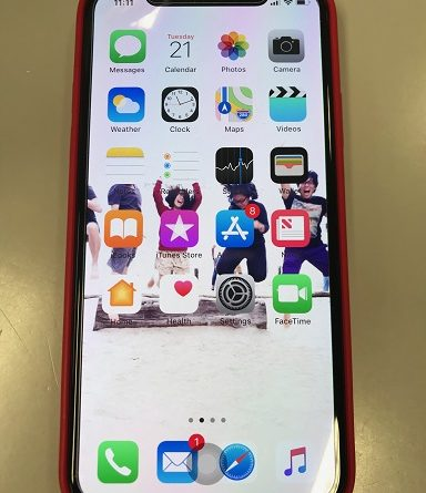 iPhone X Home Button jilaxzone Assistive Touch