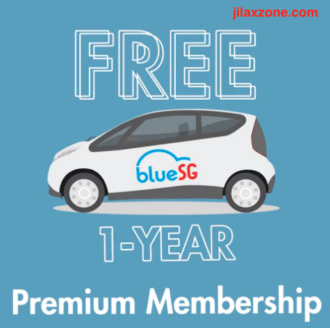 BlueSG Electric Car SG jilaxzone.com Free BlueSG Premium Membership
