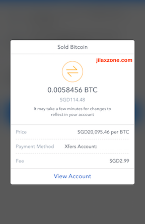 I sell my Bitcoin jilaxzone.com