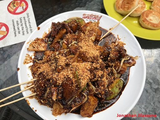 UOB Promotion Satay by the Bay jilaxzone.com Traditional Rojak Big Plate $1
