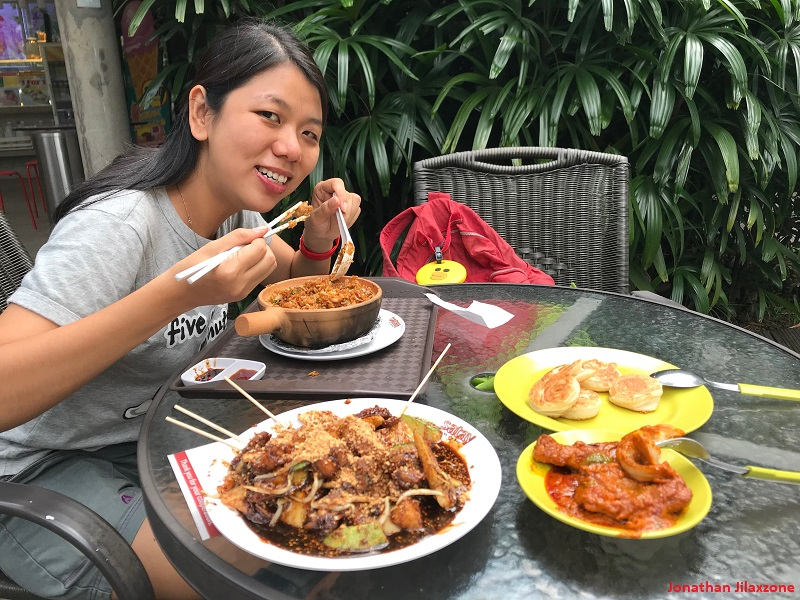 Rujak is a must-try food in Jakarta