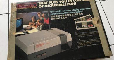 Nintendo NES Jilaxzone.com the famous console box