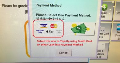 Kopitiam Credit Card jilaxzone.com Payment with Credit Card and Cash-less Payment