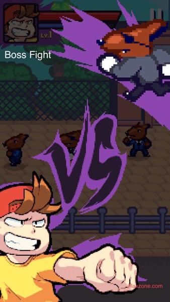 Beat Street Jilaxzone.com Beat em up boss fight