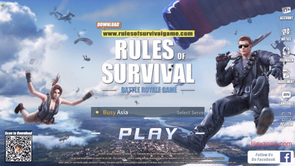 Rules of Survival Jilaxzone.com similar game to PUBG PlayerUnknown's Battlegrounds