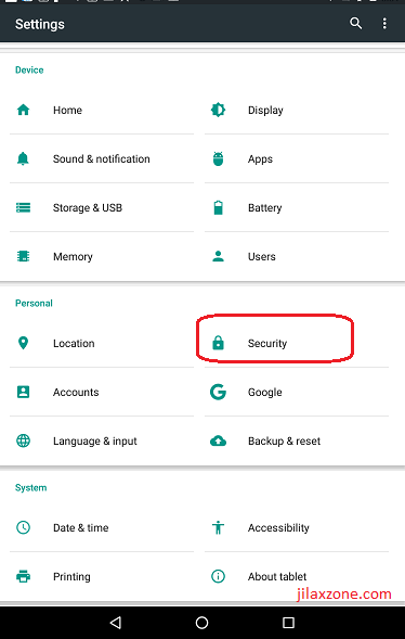 Android jilaxzone.com sideload APK