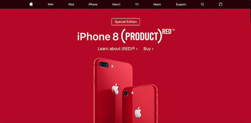 iPhone 8 jilaxzone.com Special Edition Product Red