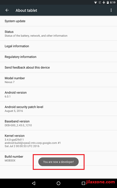 Android Speed Up Enable Developer Option