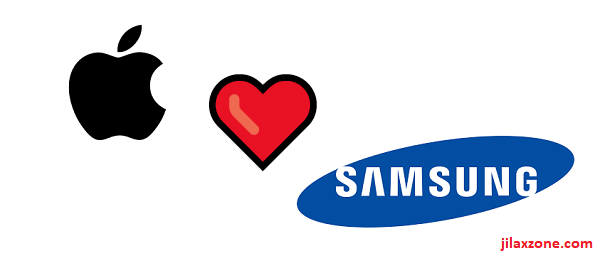 Apple vs Samsung meme love jilaxzone.com
