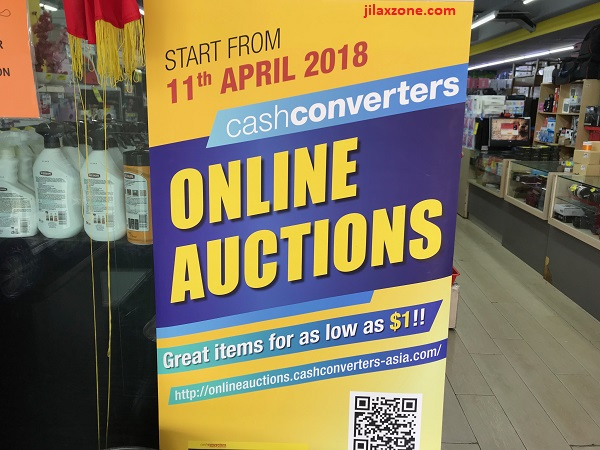 CashConverters Online Auctions website jilaxzone.com