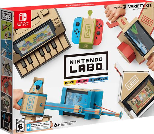 Nintendo Labo jilaxzone.com