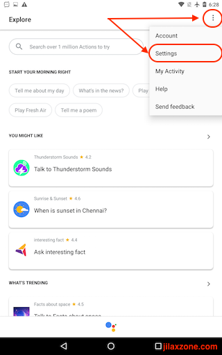 Turning Off Google Assistant jilaxzone.com Google Assistant Settings