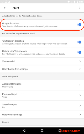 Turning Off Google Assistant jilaxzone.com