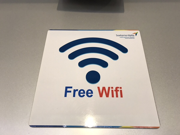 WiFi Gratis di bandara Soekarno-Hatta Jakarta