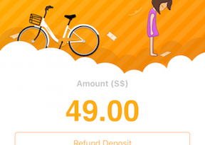 oBike How to Refund Deposit jilaxzone.com
