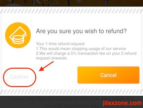 oBike app confirm refund jilaxzone.com