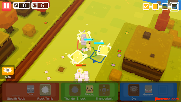 Pokemon Quest use auto fight during expeditions jilaxzone.com