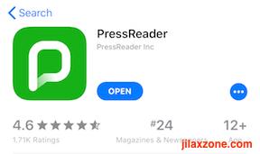 PressReader App jilaxzone.com