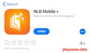 Singapore NLB Mobile app jilaxzone.com
