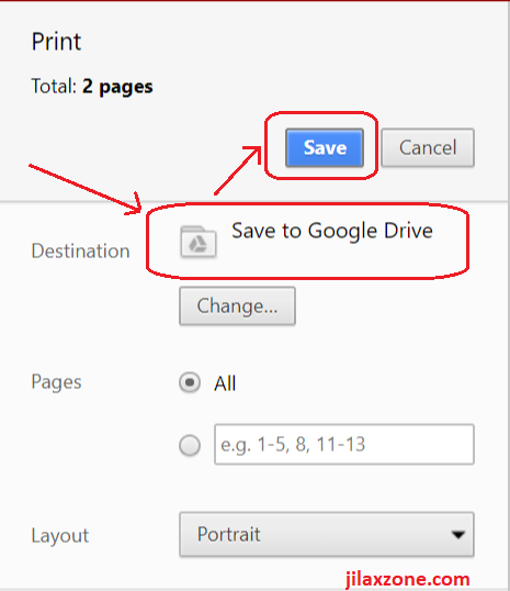 attach email on gmail save to google drive jilaxzone.com