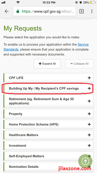 2 CPF cash top-up jilaxzone.com building up my cpf savings